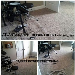 Carpet Stretching does not always require removing all the items from the room
