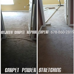 Doorway carpet trip hazards can be corrected
